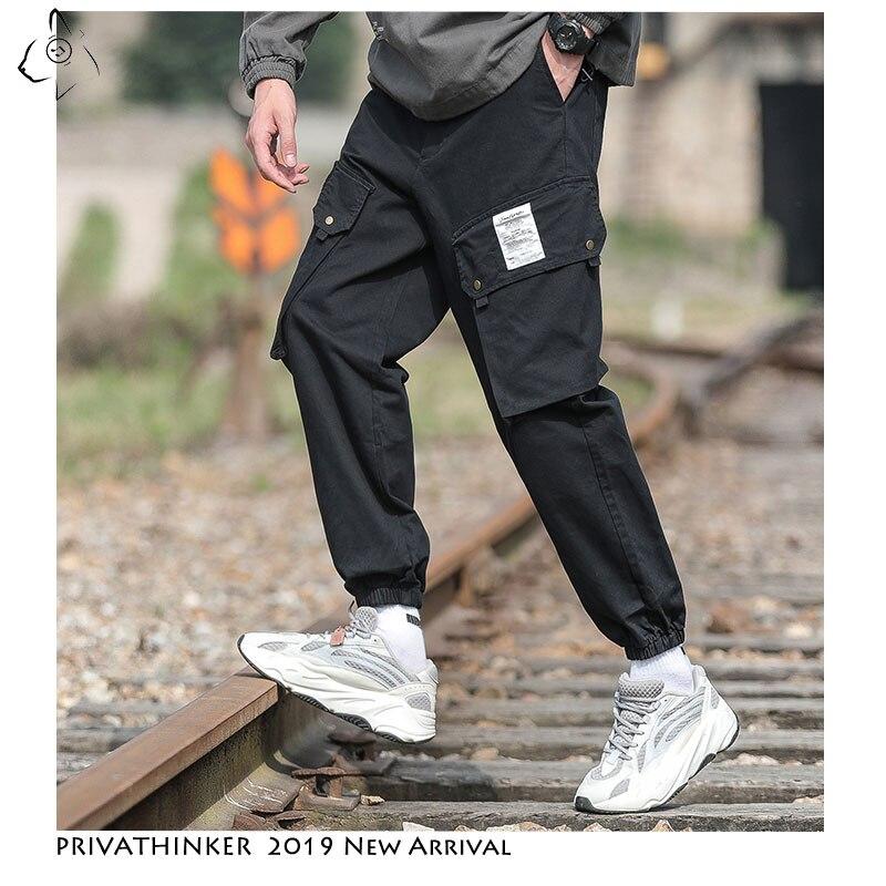 Privathinker Men News Clearance Sale 2020 Harem Pants Mens Casual Japan Joggers Male Korean Trousers Fashions Bottoms Clothing