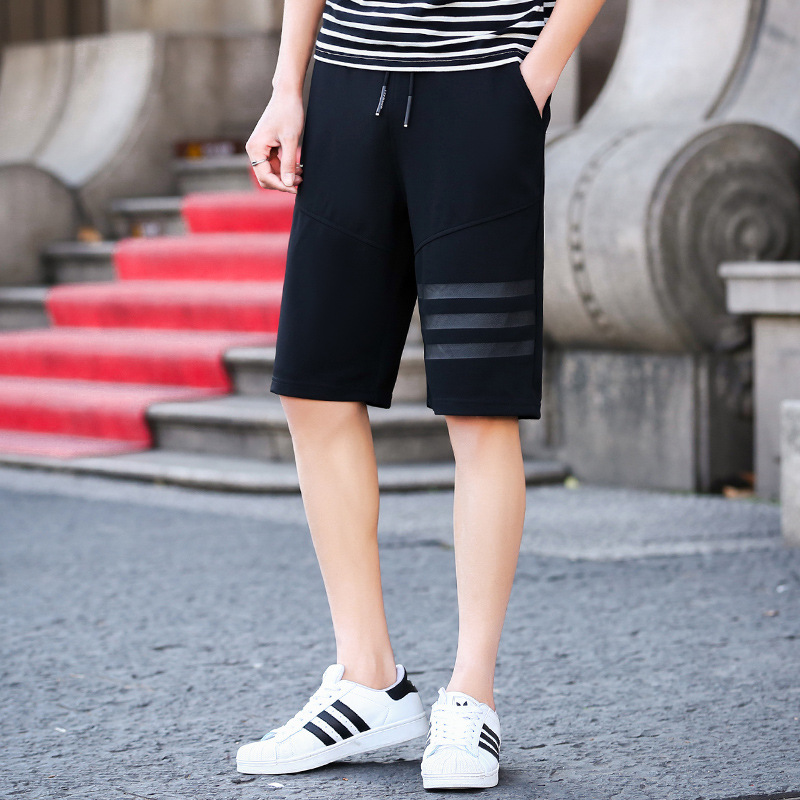 2019 New Products Listed Shorts MEN'S Casual Pants 5 Shorts Men's Summer Sports Loose-Fit Beach Shorts
