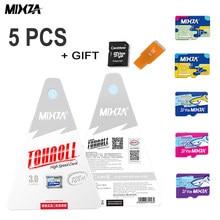 5PCS MIXZA Original Memory Card 256GB 128GB 64GB U3 80MB/S 32GB sd card Class10 UHS-1 flash card Memory TF/SD Cards for Tablet