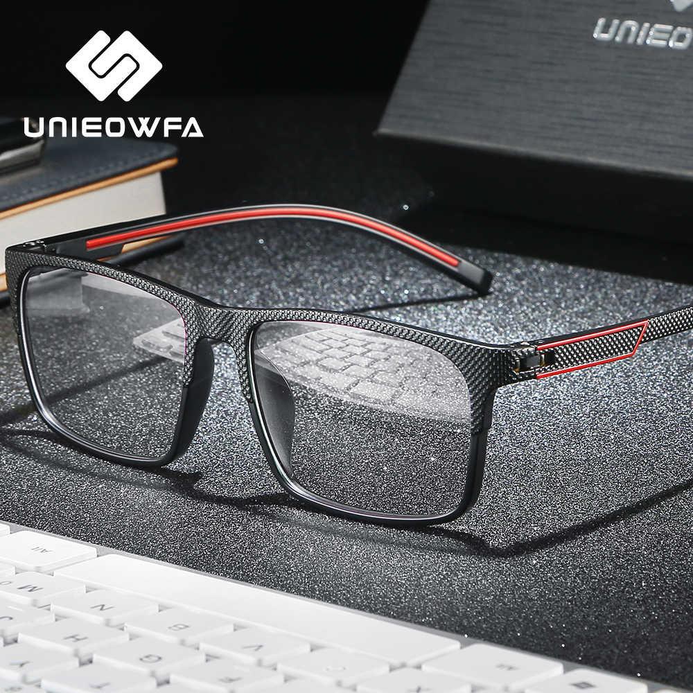 Tr90 miopia óculos ópticos frame men progressive prescrição óculos quadro claro grau óculos quadro coreia eyewear 2020
