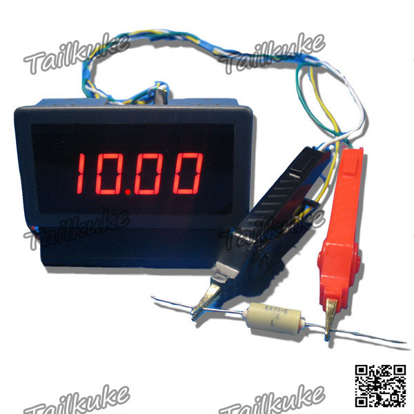 Digital DC Milliohmeter Head Range 20 Ohms Low Resistance Tester Ohmmeter Resolution 10 Milliohms