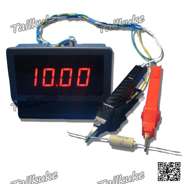 Digital DC Milliohmeter Head Range 20 Ohms Low Resistance Tester Ohmmeter Resolution 10 Milliohms|Personal Care Appliance Parts| |  -