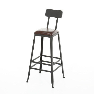 Bar Table And Chair Combination High Foot Table Domestic American Table Solid Wood Long Bar Table Simple Modern Wall Table