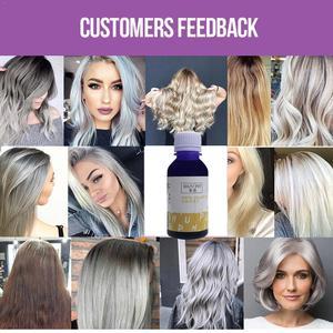 100G yellowing shampoo bleaching and yellowing gray