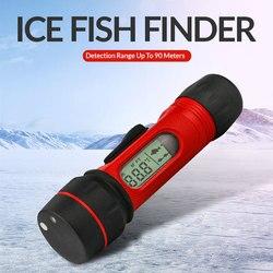 Ghiaccio di Pesca Ecoscandaglio Fish finder Wireless Ecoscandaglio 0.8-90m di Profondità Digitale Maniglia del Trasduttore Del Sensore Sonar Fishfinder