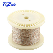 10M Earphone Upgrade Cable 1 Core For 2.5mm 4.4mm 3.5mm Audio Headphone Adapter Line Copper Silver Weaving Cable HIFI