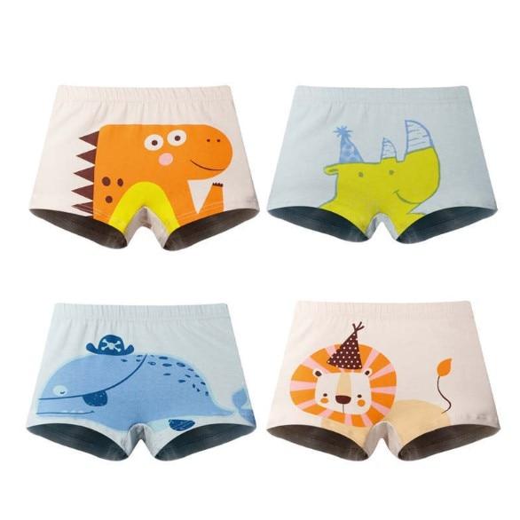 3pcs Lot New Arrive Boys Underwear Cotton Baby Boy Underwears Children's Briefs Kids Cartoon Designs Shorts ZL17