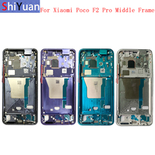 Original Housing Middle Frame LCD Bezel Plate Panel Chassis For Xiaomi Poco F2 Pro/Redmi K30 Pro Phone Metal Middle Frame