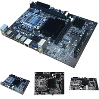 Desktop Computer Motherboard USB Ports Dual Channel Stable Multi Slots Main Accessories Office Integrated For LGA 1366 DDR3