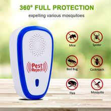 Neweat Electronics Mosquito Killer  Pest Control  Mosquito Killer Fly Trap Ultrasonic Insect Repeller Zapper repeller