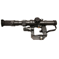 PO 3 9X24 Warsaw Pact Clamp Rifle Scope Kalashnikov AK Series Optic Sight Illuminated For Hunting And Sports