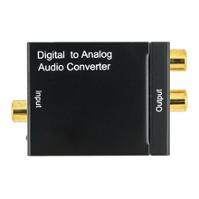 2019 Optical Coaxial Toslink Digital To Analog Audio Converter RCA L/R 3.5mm 1 X