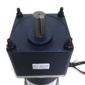 Image 4 - قوية 200 واط مايكرو الكهربائية تيار مستمر محرك معشق 12 فولت 24 فولت عالية عزم الدوران منخفضة السرعة 10 إلى 600 دورة في الدقيقة تيار مستمر المحركات قابل للتعديل سرعة عكس