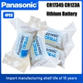 4 шт., литиевая батарея Panasonic CR123A CR123A CR123 123A CR 123 A123 CR17345 16340 3 в для камеры, фонарик, сухая Основная камера