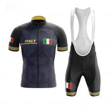 2020 New Italy Go Pro Cycling Jersey Sets Men Summer Short Sleeve Quick-dry Cycling Clothing MTB Bike Suit Ropa Ciclismo Hombre
