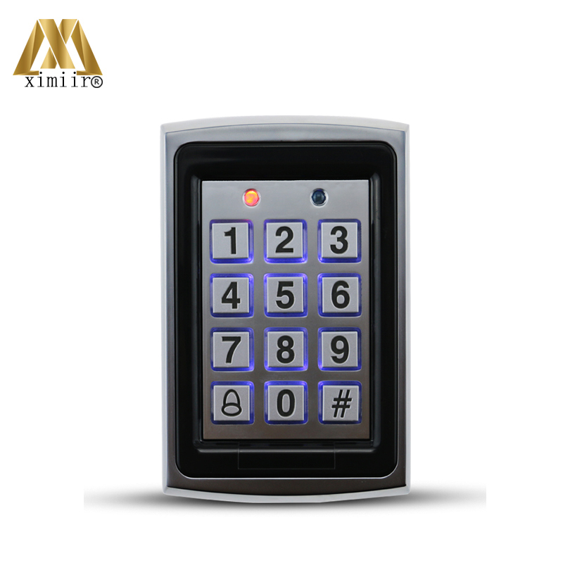 Standalone RFID Card Access Control System 1000 Users Door Metal Access Controller ID Card Door Control M01