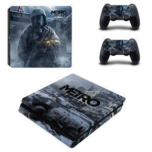 Image 3 - 메트로 Exodus PS4 슬림 스킨 스티커 데칼 비닐 Dualshock 플레이 스테이션 4 콘솔 & 컨트롤러 PS4 슬림 스킨 스티커 비닐