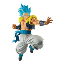 PVC Anime Dragon Ball Z Goku Vegeta Gogeta Soldado Final Azul Escuro Filme Ver. VS Super Batalha Broly PVC Collectible Modelo(China)