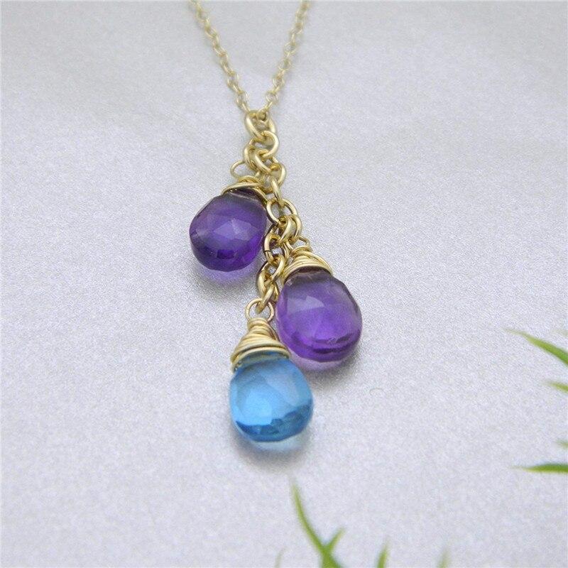 Collier mère personnalisé pierre de naissance pour maman, cadeau fête des mères pour maman, or, bijoux en argent, cadeau saint valentin pour