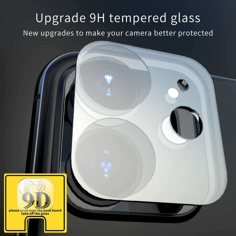 3Pcs Camera Lens Protective For iPhone 7 8 Plus 11 Pro XS Max XR X 9D Screen Protector For iPhone 11 Full Cover Protector Film