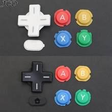 JCD Offre Spéciale un ensemble ABXY croix presse bouton pièce de réparation remplacer pour Nintendo nouveaux boutons 3DS