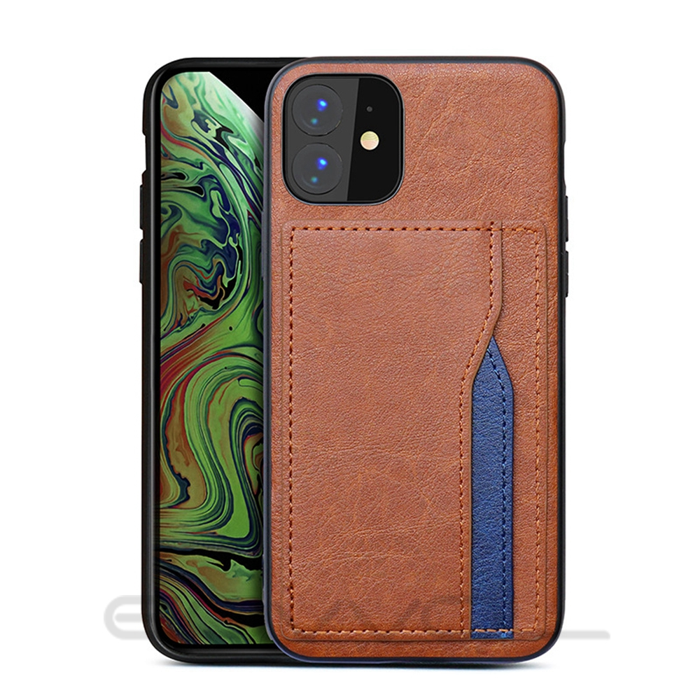 Hce5691f357844e15a52c89763d83f618X Eqvvol Retro PU Leather Case For iPhone 11 Pro MAX 2019 Multi Card Wallet Case For iPhone X XS MAX XR 11 Shockproof Cover Coque