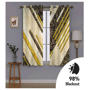 Curtains Decoration European 3D Curtains For Living room Blackout Marble pattern custom curtains