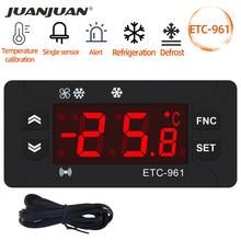 ETC-961 Thermostaat Temperatuur Controller Vochtigheid Thermometer Hygrometer Koeling Alarm 220V Ntc Sensor 30% Off