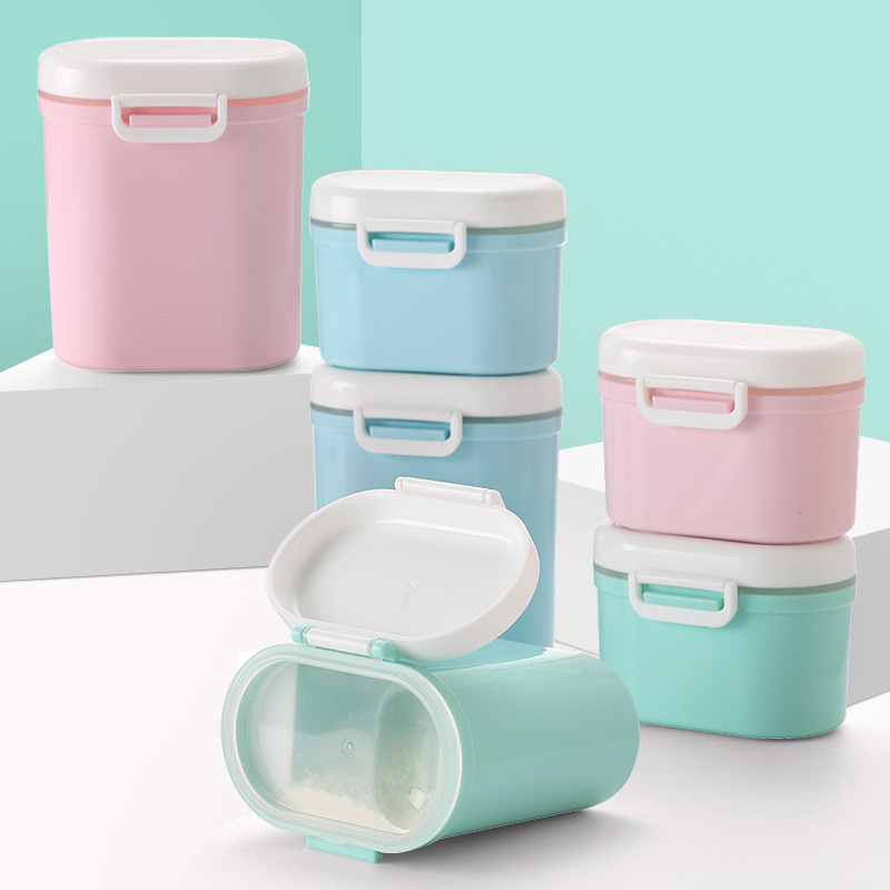 Baby Milk Box Children Milk Powder Storage Infant Milk Container Milk Cans