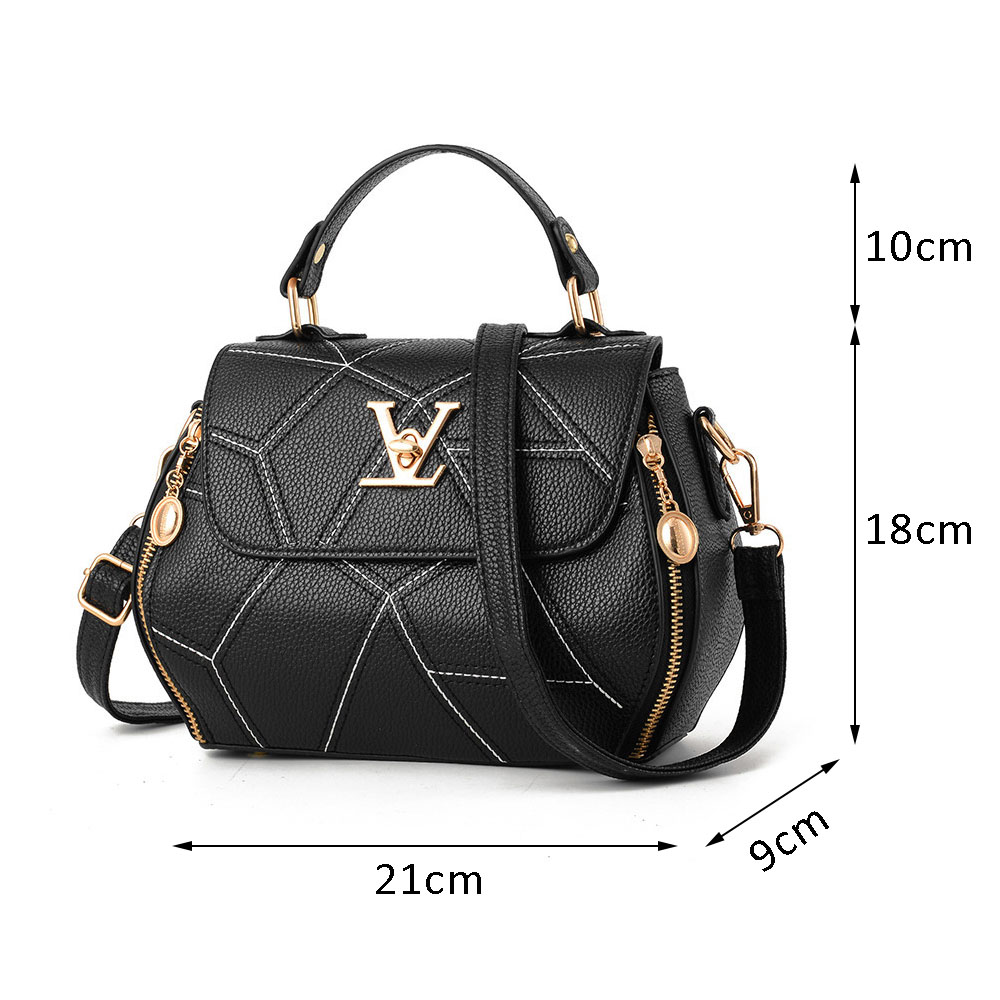 Fashion Messenger Bag Scratch Resistant Crossbody Bags for Women Handbags Shoulder Bag High Capacity Lady's Shopping Tote Bag