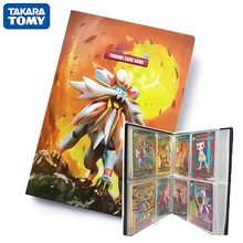 240Pcs Pokemon Album Card Book Playing TAKARA TOMY Game Card Binder Folder EX GX V Vmax Collector Loaded List Holder Kids Toys