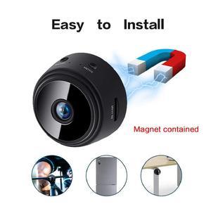 Mini HD 1080P sans fil WiFi enregistrement vidéo DV sécurité à domicile Vision nocturne IP caméra magnétique Surveillance caméra de détection à distance