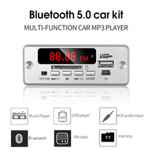 Wireless Bluetooth V5.0 MP3 Decoding Board Module Car MP3 Player TF Card Slot / USB / FM / Remote Decoding Board Module