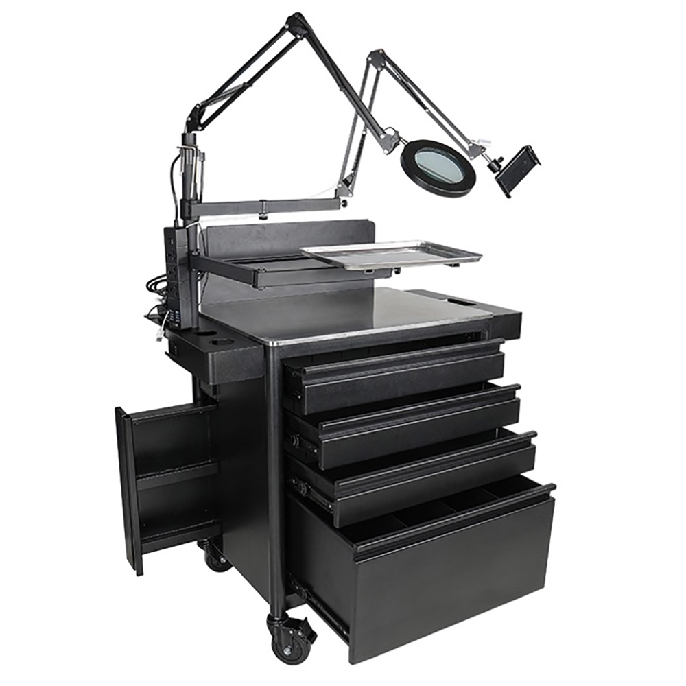 Tattoo Iron Workstation Simple Tattoo Furniture Tattoo Kits Tattoo Mobile Work Station Tattoo Furniture Tattoo Kits For Tattoo