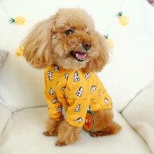 Футболка с героями мультфильмов для собак; Одежда для кошек, чихуахуа, йоркширского терьера; костюм для маленькой собачки; толстовка с капюшоном для Йоркского пуделя; костюм для померанского питомца