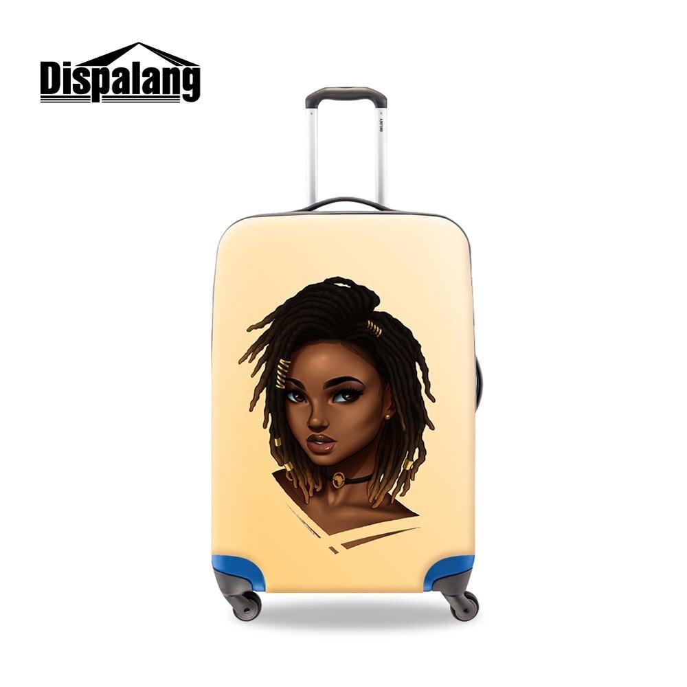 2020 новые рекламные Мультяшные изображения девушки грязные красочные сублимационные Чехлы для чемодана на заказ для путешествий