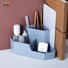 Simple desktop cosmetic corner storage box home remote control finishing box stationery jewelry box cosmetics organizer