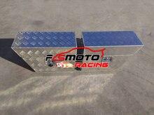 PAAR VON 600x250x400mm Aluminium Undertray Unter Fach Unterboden Ute Werkzeug Box toolbox Lagerung T Schloss 24