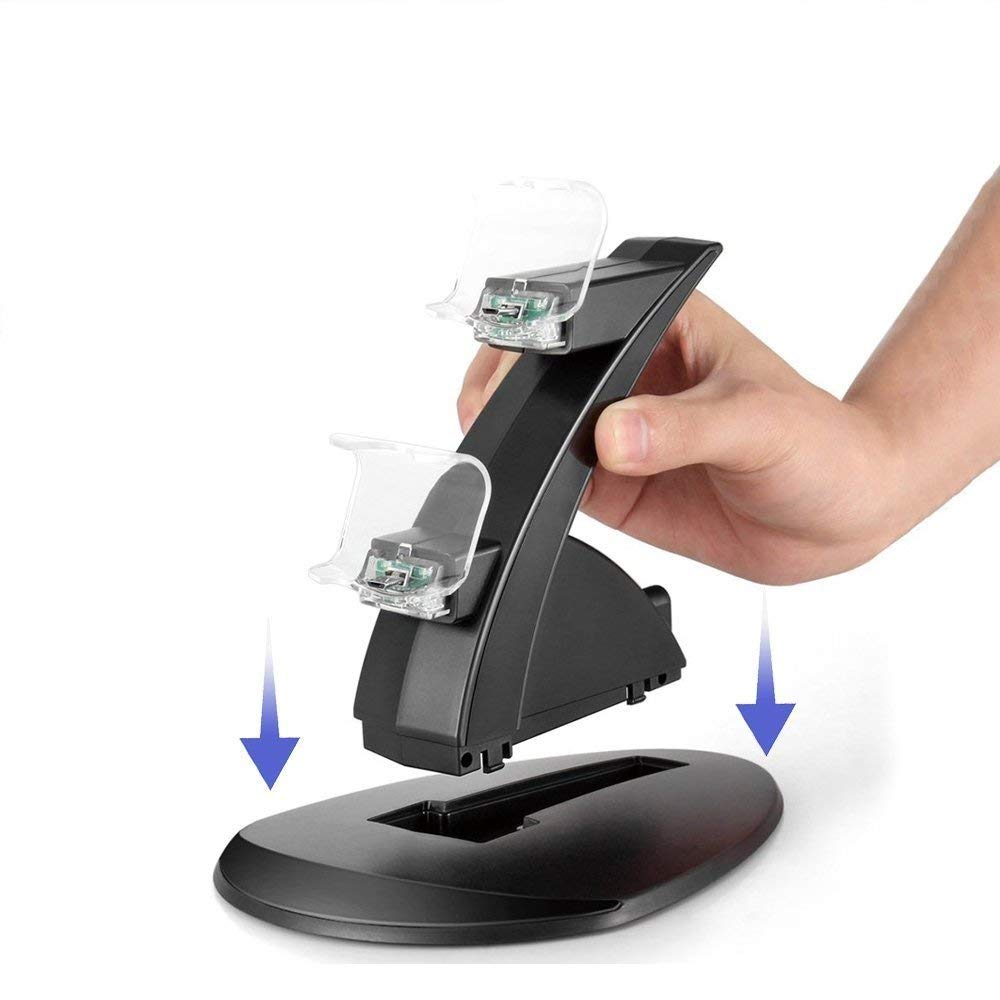 Charging Stand Station Cradle for Sony Playstation 4 PS4 (11)