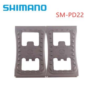 Shimano-abrazadera plana para Pedal de bicicleta de montaña, SM-PD22 SPD, PD22, para M520, M540, M780, M980