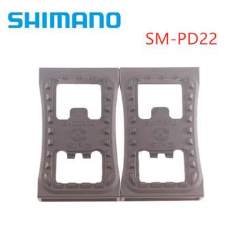 shimano SM-PD22 SPD Cleat Flat PD22 Pedal MTB mountain bike pedal For M520 M540 M780 M980 Clipless Pedals bicycle pedal mtb bike self locking spd pedal clipless pedal platform adapters for shimano spd looking keo system accessories