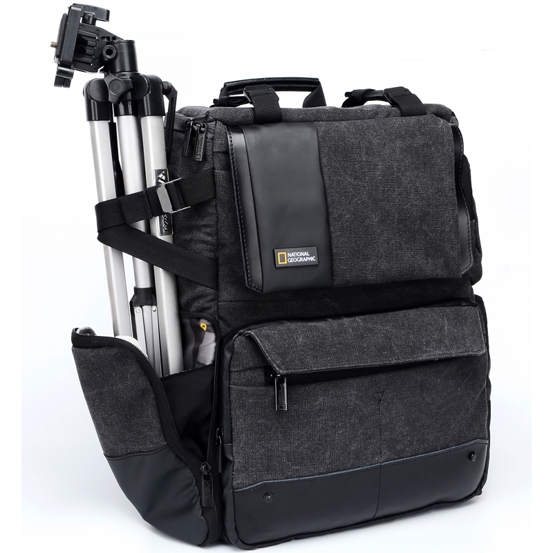 National Geographic NG W5072 Leather Camera Bag Backpacks Large Capacity Laptop Carry Bag For Digital Video Camera Travel Bag