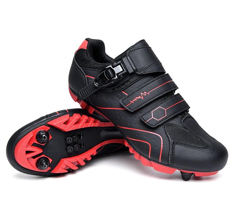 desporto ao ar livre sapatos de bicicleta