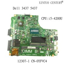 NOKOTION CN-0YFVC4 YFVC4 0YFVC4 12307-1 для Dell Inspiron 14 3437 5437 w/ Core i5-4200U материнская плата для ноутбука GT740