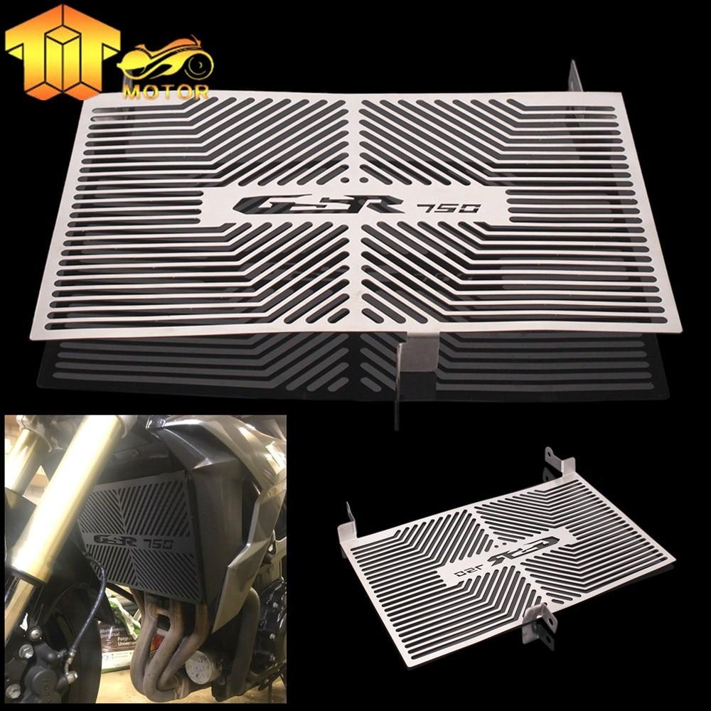 CK CATTLE KING Защитная крышка радиатора из нержавеющей стали для SUZUKI 2011-2012-2013-2014-2015 GSR 750 GSR750