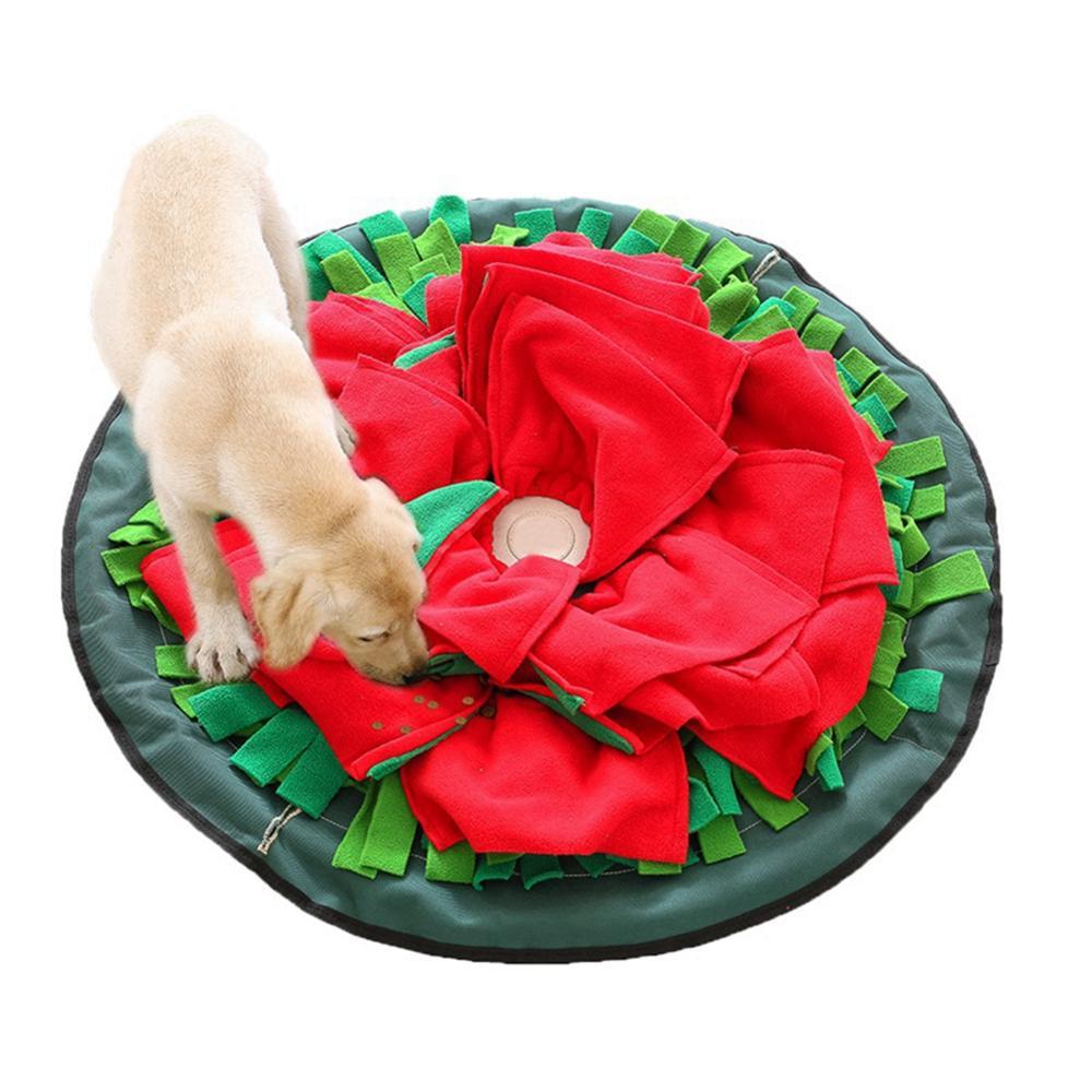 Моющийся питомец собака нюхающая Подушка головоломка игрушка для обучения еде одеяло игрушка собака подушка облегчение давление головоло
