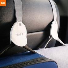 Yeni orijinal Xiaomi Mijia araba kanca 2 adet araba depolama için kolay kurulum güvenlik tasarımı araba için yüksek kalite kanca