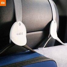 新オリジナルxiaomi mijia車のフック2 5pcsのために車収納インストールが簡単安全設計のための車高品質フック