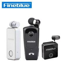 سماعة Fineblue للبيع بالجملة 5 قطعة F920 Pro F2 F1 سماعة أذن لاسلكية ميكروفون بلوتوث لاسلكي + مشبك سلكي مع الصندوق الأصلي