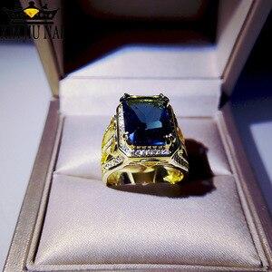 Fashion Creative blue zircon L
